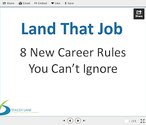 8 new career rules you can't ignore