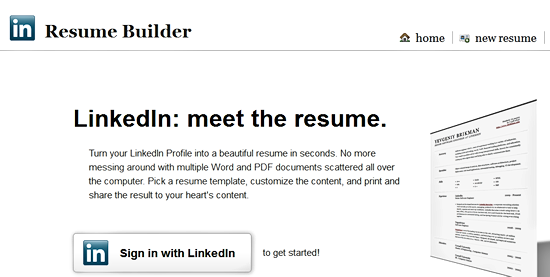 Career Resource: Resume Journey by LinkedIn