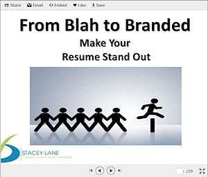 blending your personal brand with your resume stacey