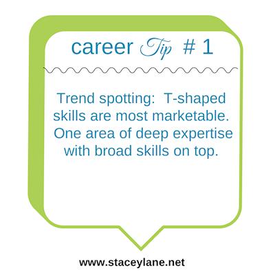 Career Tip #1: Develop T-shaped skills.