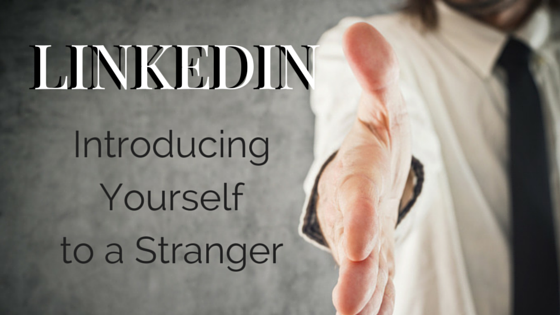 Stranger Introduction on LinkedIn